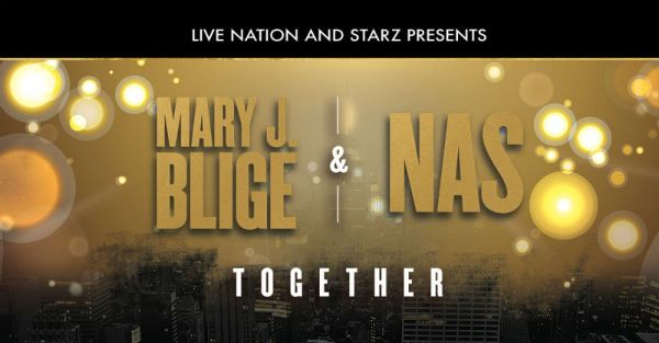 Mary J. Blige and Nas to Co-Headline Summer Tour