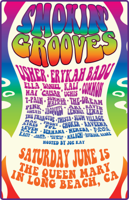 Smokin' Grooves Festival Returns with Usher & Erykah Badu